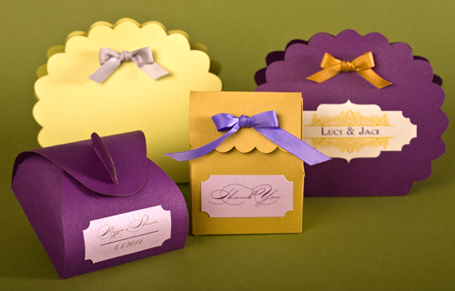 Favor Boxes Cover