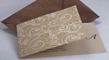 Fold Away Invitation