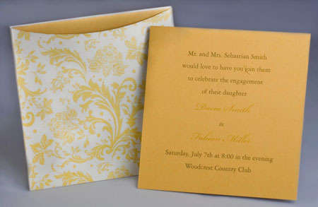 Jacket Invitations Style A2